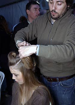 Celine Fall 2005 Ready-to-Wear Backstage 0001