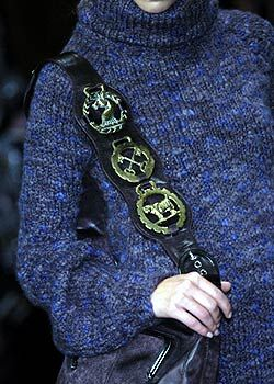 Stella McCartney Fall 2005 Ready-to-Wear Detail 0001