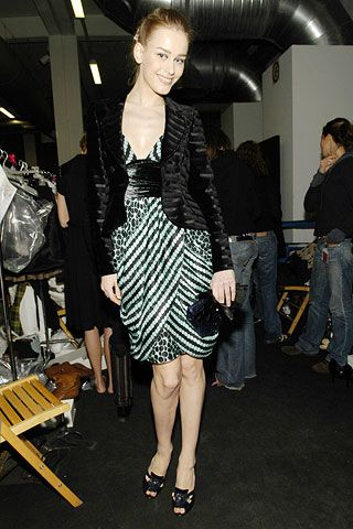 Emporio Armani Fall 2006 Ready-to-Wear Backstage 0001