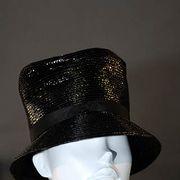 Hat, Lip, Chin, Mannequin, Style, Fashion accessory, Headgear, Costume accessory, Fashion, Black,