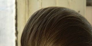 Brown, Hairstyle, Forehead, Eyebrow, Style, Long hair, Beauty, Neck, Blond, Brown hair,