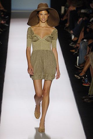 Clothing, Footwear, Leg, Fashion show, Brown, Event, Human leg, Hat, Shoulder, Dress,