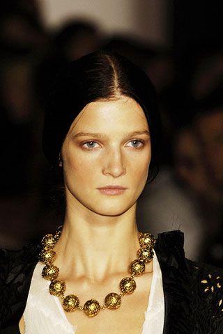 Lip, Hairstyle, Eyebrow, Eyelash, Style, Fashion accessory, Beauty, Fashion, Body jewelry, Fashion design,