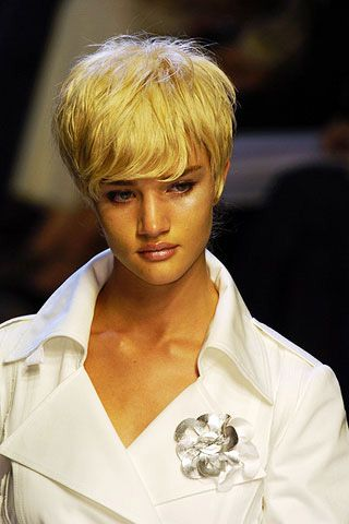 Hairstyle, Collar, Style, Blond, Bangs, Wings, Fashion design, Costume, Wig, Bob cut,