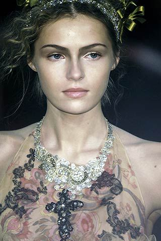 Christian Lacroix Spring 2006 Haute Couture Detail 0001
