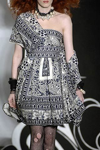 Anna Sui Spring 2007 Ready-to-wear Detail 0001
