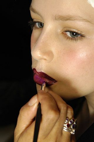 Jill Stuart Fall 2006 Ready-to-Wear Backstage 0001