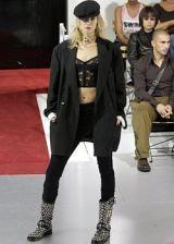 Hat, Joint, Outerwear, Style, Fashion show, Fashion, Fashion model, Black, Runway, Cap,