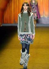 Anna Sui Fall 2003 Ready-to-Wear Collections 0002