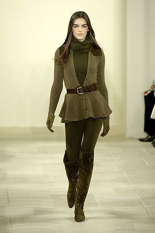 Ralph Lauren Fall 2006 Ready-to-Wear Collections 0002