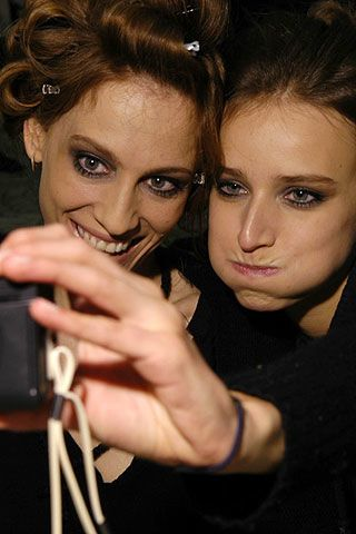 Salvatore Ferragamo Fall 2006 Ready-to-Wear Backstage 0003