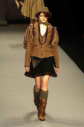 Bora Aksu Fall 2006 Ready-to-Wear Collections 0003