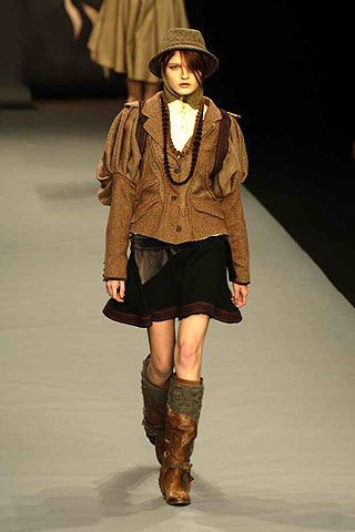 Bora Aksu Fall 2006 Ready-to-Wear Collections 0003