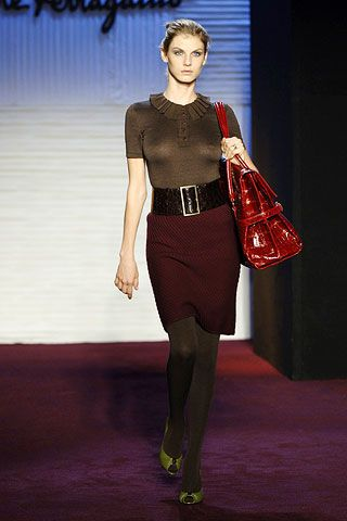 Salvatore Ferragamo Fall 2006 Ready-to-Wear Collections 0002