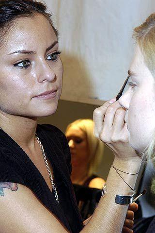Chloe Fall 2006 Ready-to-Wear Backstage 0002