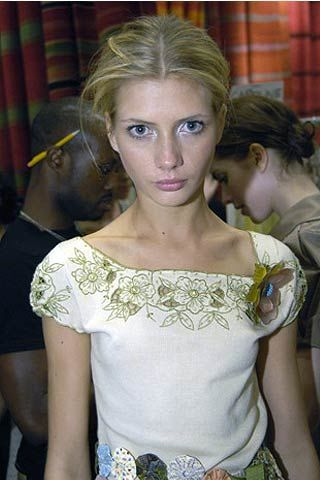 James Coviello Spring 2007 Ready-to-wear Backstage 0002