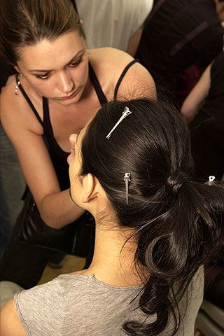 Elie Saab Fall 2006 Haute Couture Backstage 0003