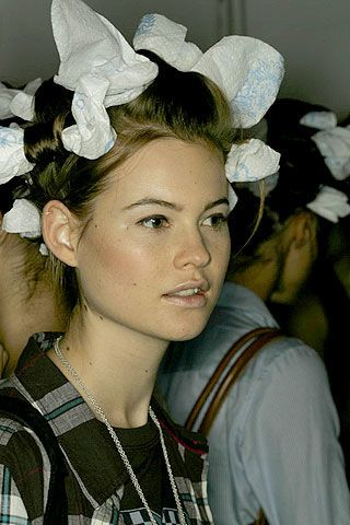 BCBG Max Azria Spring 2007 Ready-to-wear Backstage 0003