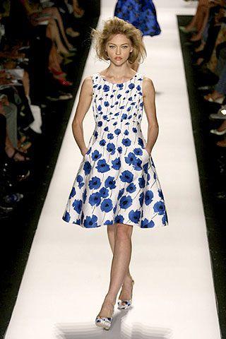 Oscar De La Renta Spring 2007 Ready-to-wear Collections 0002