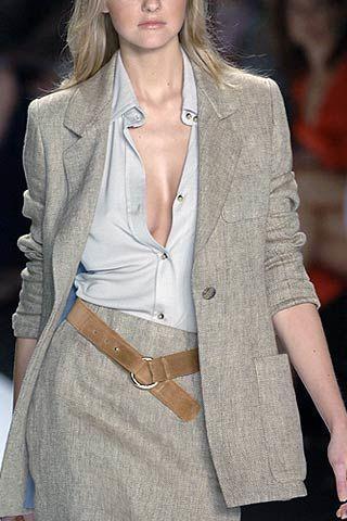Bill Blass Spring 2007 Ready-to-wear Detail 0002