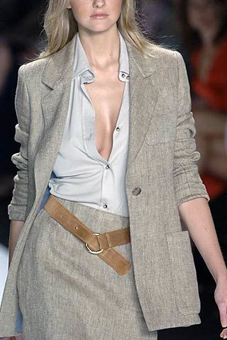 Bill Blass Spring 2007 Ready-to-wear Detail 0002
