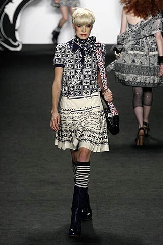 Anna Sui Spring 2007 Ready-to-wear Collections 0002
