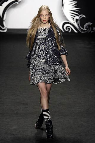 Anna Sui Spring 2007 Ready-to-wear Collections 0003