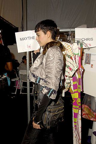 Custo Barcelona Spring 2007 Ready-to-wear Backstage 0003