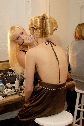 Jeremy Scott Spring 2007 Ready-to-wear Backstage 0002
