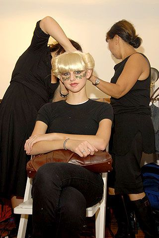 Jeremy Scott Spring 2007 Ready-to-wear Backstage 0003