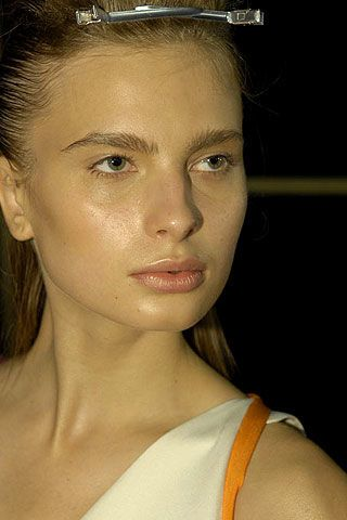 Jonathan Saunders Spring 2007 Ready-to-wear Backstage 0002