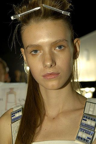 Jonathan Saunders Spring 2007 Ready-to-wear Backstage 0003