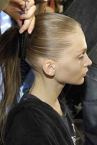 Hamish Morrow Spring 2007 Ready-to-wear Backstage 0003