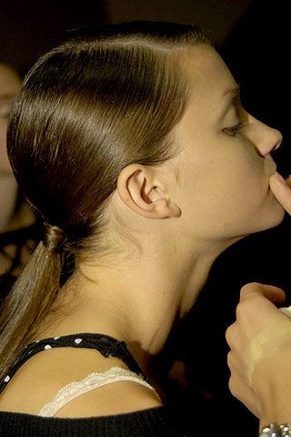 Douglas Hannant Spring 2007 Ready-to-wear Backstage 0003