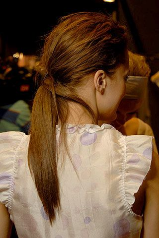 Kristina Ti Spring 2007 Ready-to-wear Backstage 0002