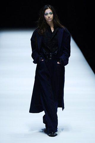 Yohji Yamamoto Fall 2006 Ready-to-Wear Collections 0001