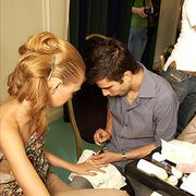 Eymeric Francois Fall 2006 Haute Couture Backstage 0001
