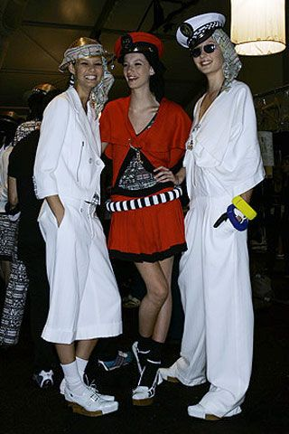 Alexandre Herchcovitch Spring 2007 Ready-to-wear Backstage 0001