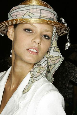 Alexandre Herchcovitch Spring 2007 Ready-to-wear Backstage 0003
