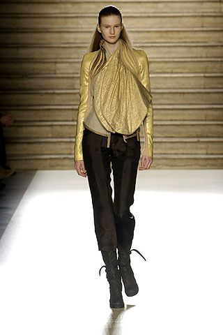 Rick Owens Fall 2006 Ready-to-Wear Collections 0001