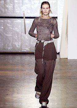 Rick Owens Spring 2003 Ready-to-Wear Collection 0001