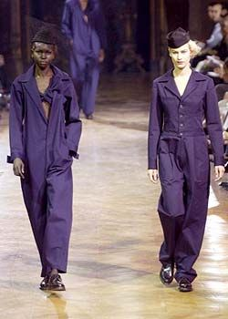 Yohji Yamamoto Spring 2003 Ready-to-Wear Collection 0001