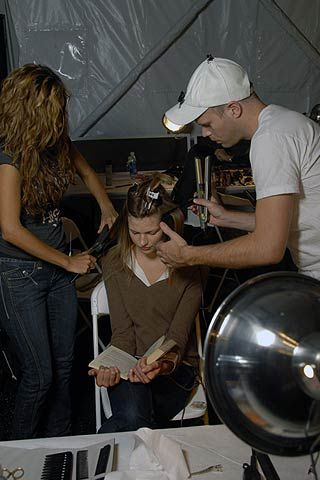 Malo Spring 2007 Ready-to-wear Backstage 0001