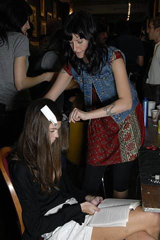 Ruffian Spring 2007 Ready-to-wear Backstage 0001