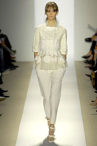 J. Mendel Spring 2007 Ready-to-wear Collections 0001