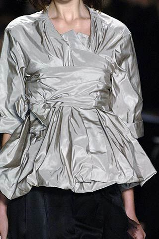 Vera Wang Spring 2007 Ready-to-wear Detail 0001
