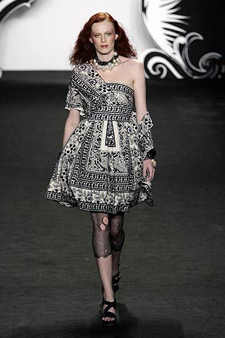 Anna Sui Spring 2007 Ready-to-wear Collections 0001