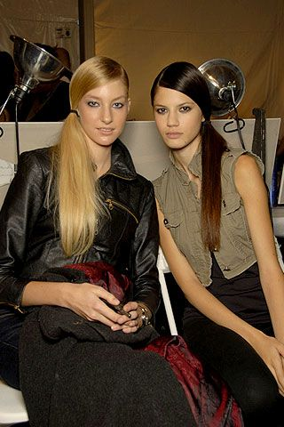 Custo Barcelona Spring 2007 Ready-to-wear Backstage 0001