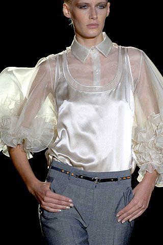 Zac Posen Spring 2007 Ready-to-wear Detail 0001