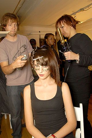 Jeremy Scott Spring 2007 Ready-to-wear Backstage 0001